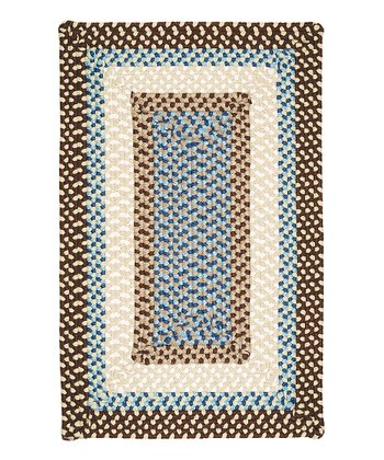 Bright Brown Montego Indoor/Outdoor Rug