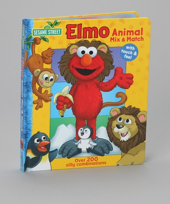 Elmo Animal Mix & Match Picture Book