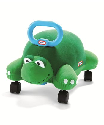 Turtle Pillow Racer Ride-On