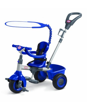 Navy Blue 3-In-1 Trike