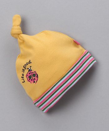 Ochre Love Bug Single-Knot Beanie