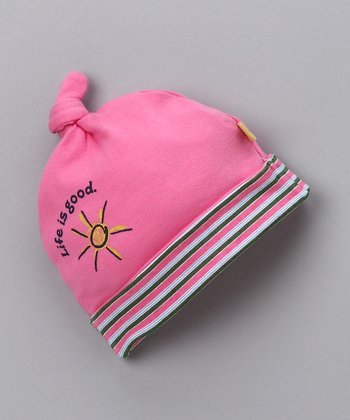 Rose Hello Sunshine Single-Knot Beanie - Infant