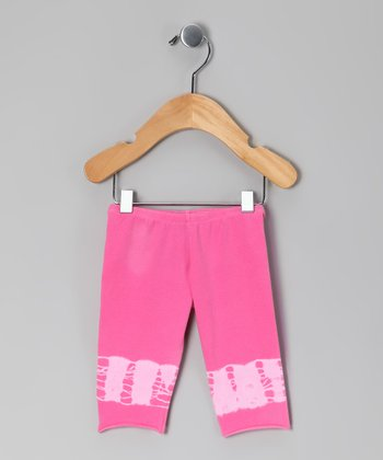 Pink Carnation Leggings - Infant