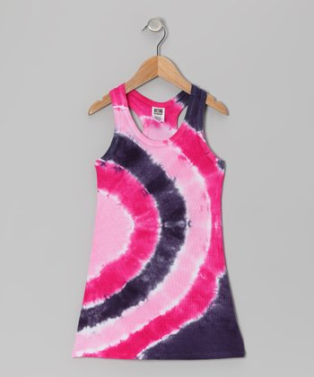 Rainbow Tie-Dye Coco Dress - Toddler & Girls
