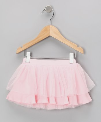 Pink Ruffle Skirt - Toddler & Girls