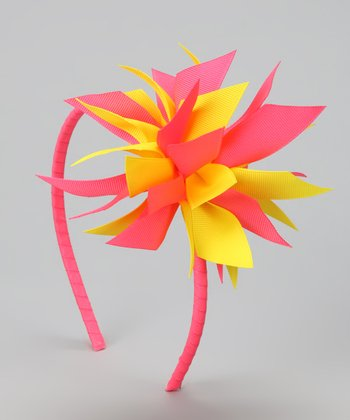 Citrus Surprise Bow Headband