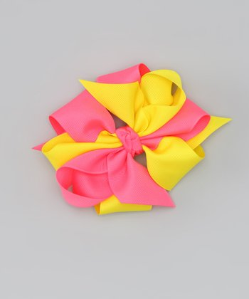 Citrus Side by Side Bow Clip