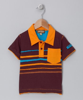 Chocolate Polo - Infant, Toddler & Boys