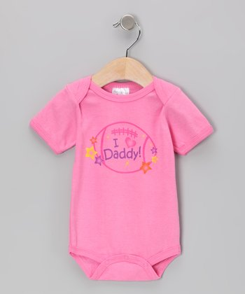 Pink 'I Love Daddy' Bodysuit