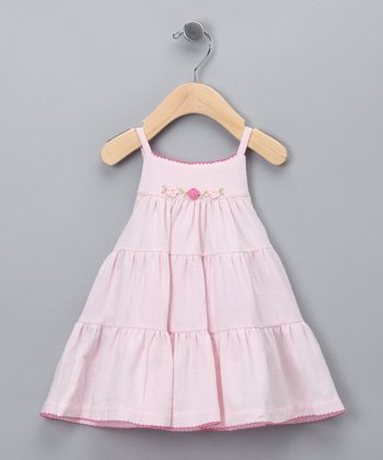 Pink Tiered Dress - Infant