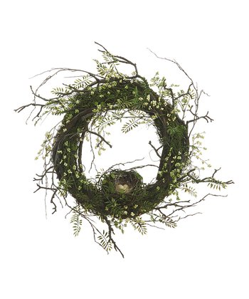 Berry Birdnest Wreath