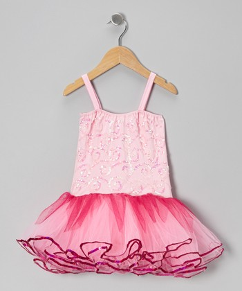 Pink Skye Skirted Leotard - Infant, Toddler & Girls