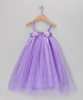 Light Purple Jasmine Dress - Toddler & Girls