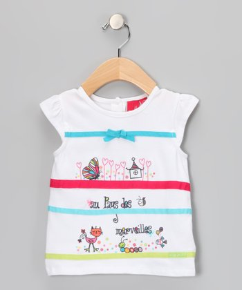 Blanc Bow Top - Infant