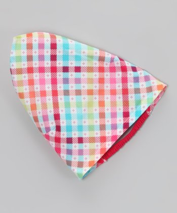 Rose Checkerboard Bandanna