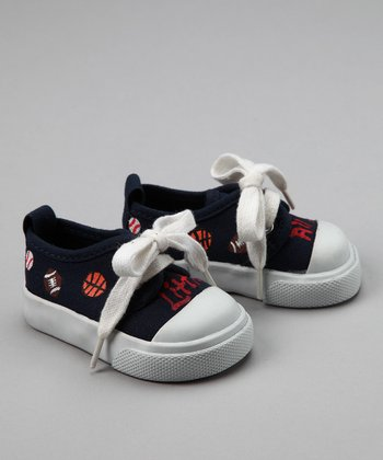 Blue 'Little All Star' Sneaker