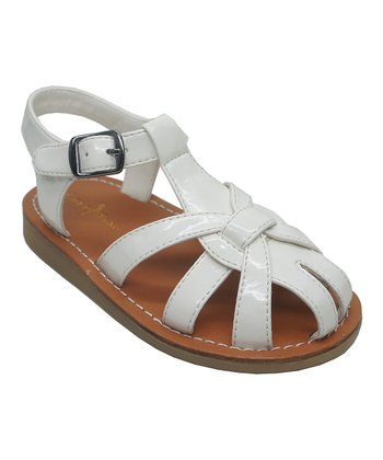 Beige Apple Fisherman 2 Closed-Toe Sandal