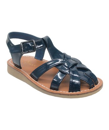 Navy Apple Fisherman 2 Closed-Toe Sandal