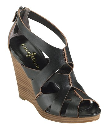 Black Air Kimry Wedge Sandal