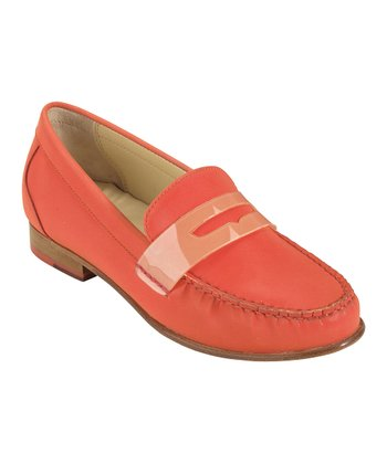 Orange Pop Monroe Penny Loafer