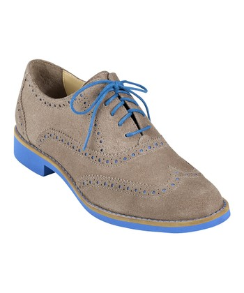 Maple Sugar & Blue Topaz Alisa Oxford