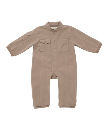 Toffee Panel Playsuit - Infant