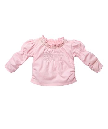 Pale Pink Smocked Top - Infant