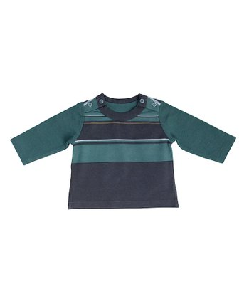 Thyme Panel Stripe Top - Infant