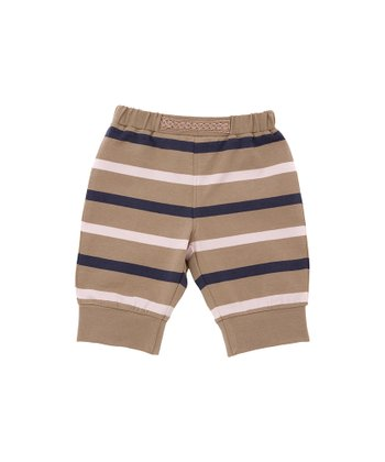Toffee Stripe Pants - Infant