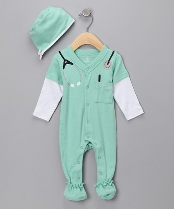 Green Big Dreamzzz Baby M.D. Layette Set