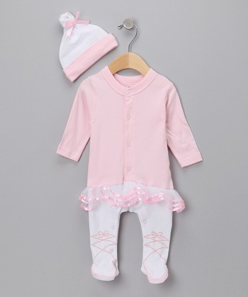 Pink Big Dreamzzz Ballerina Layette Set