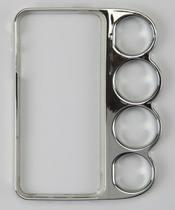 Silver Knuckle Case for iPhone 5