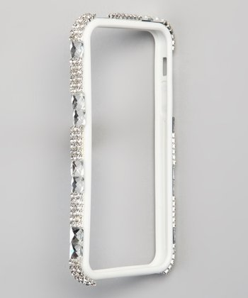 Black Bling Bumper for iPhone 4