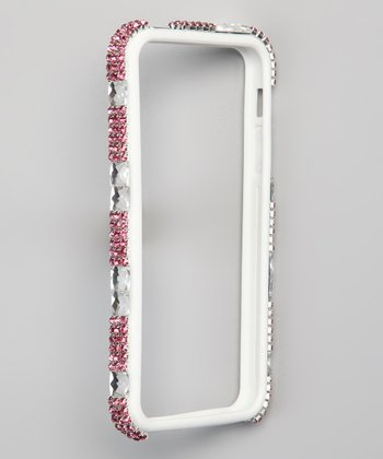 Silver Bling Bumper for iPhone 4