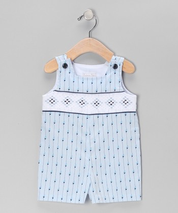 Blue Gingham Diamond John Johns - Infant