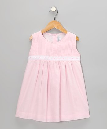 Pink Pin Tuck Dress - Infant & Toddler