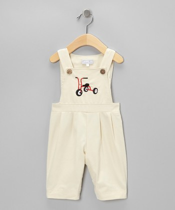 Khaki Tricycle Overalls - Infant