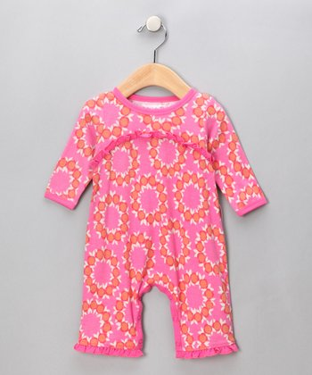 Pink Kinsey Ruffle Playsuit - Infant