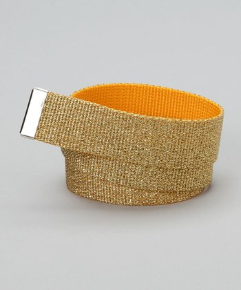 Gold Sparkle Interchangeable Belt