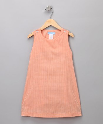 Orange Swing Dress - Toddler