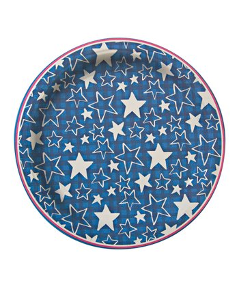 Stars & Stripes Large Plates - Set of 24