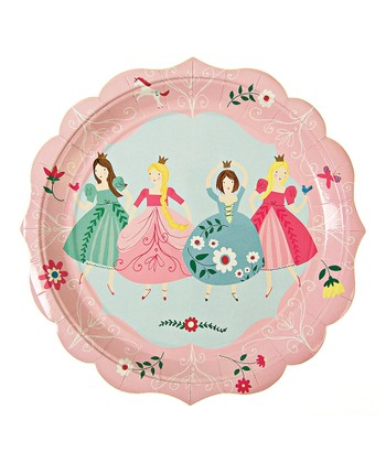 Pink I'm a Princess Plate - Set of 24