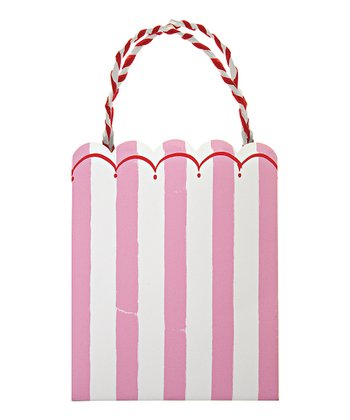 Toot Sweet Pink Party Bag - Set of Eight