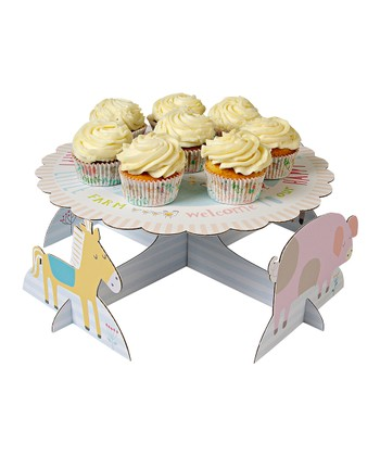 Happy Little Farm Cake Stand
