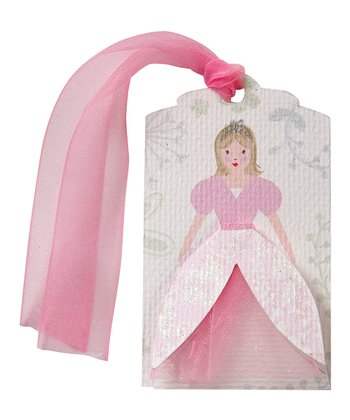 Pink Princess Gift Tag - Set of Six