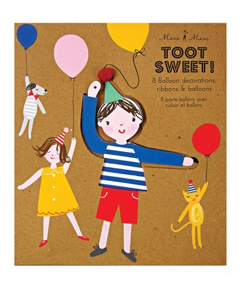 Toot Sweet Children Balloon Holder Set