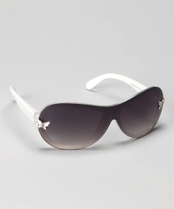 White Butterfly Sunglasses