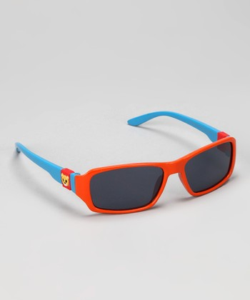 Orange & Blue Temple Sunglasses