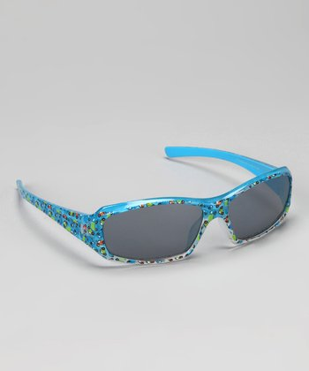 Blue Car Sunglasses