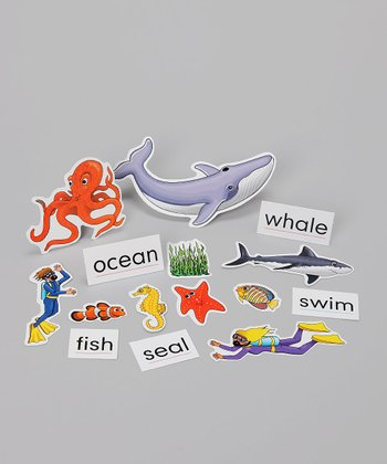 Ocean Animals Storytelling Chart Add-On Set
